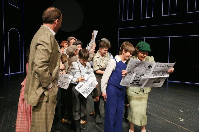 """Predstava """"Emil i detektivi"""" Ericha Kästnera, u režiji Milana Trenca,  povodom Svjetskog dana kazališta za djecu i mlade"""